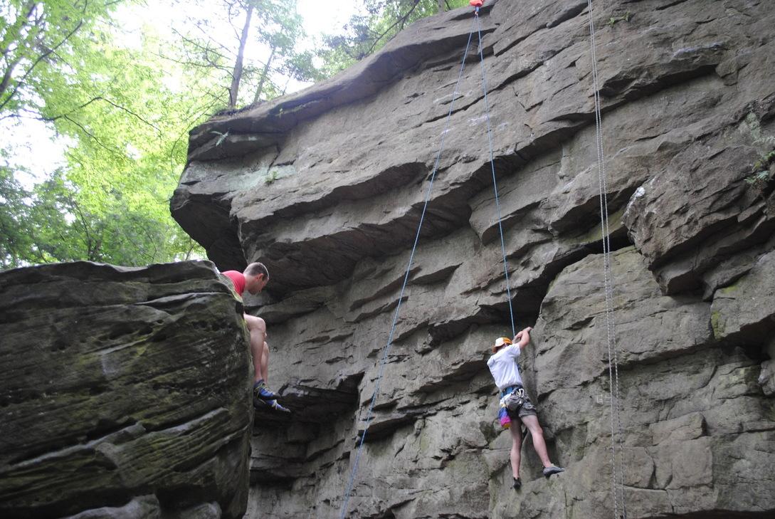 Rock Climbing Basics 2